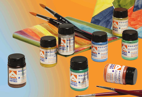 Kokolo paints for crafts and fine arts