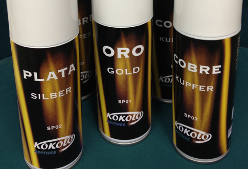 Oro en Spray